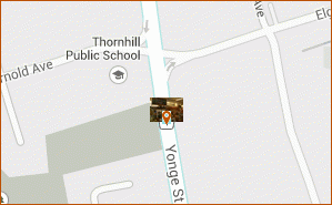 Thornhill Market Florist map thumbnail, 7509 Yonge street Thornhill ON L3T 2B4